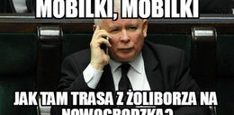 Kaczyński lepszy niż kierowca tira? Najlepsze MEMY