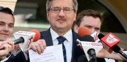 Szok! Komorowski nie zagłosuje w Warszawie