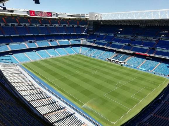 Pogled na dom fudbalera Reala