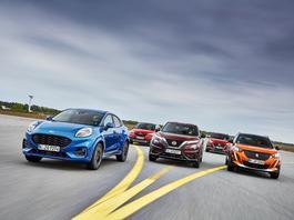 Czy Ford Puma wyskoczy na prowadzenie? Rywale już czekają