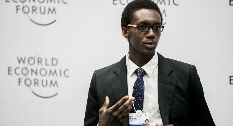 Rya Kuewor at the World Economic Forum