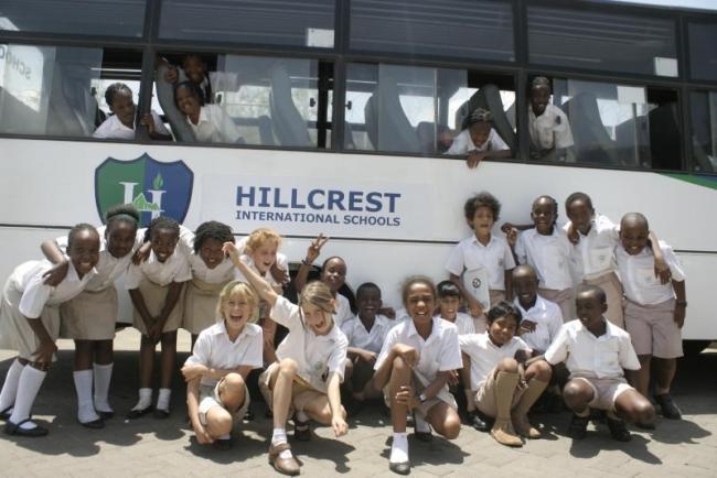 Hillcrest preparatory school student