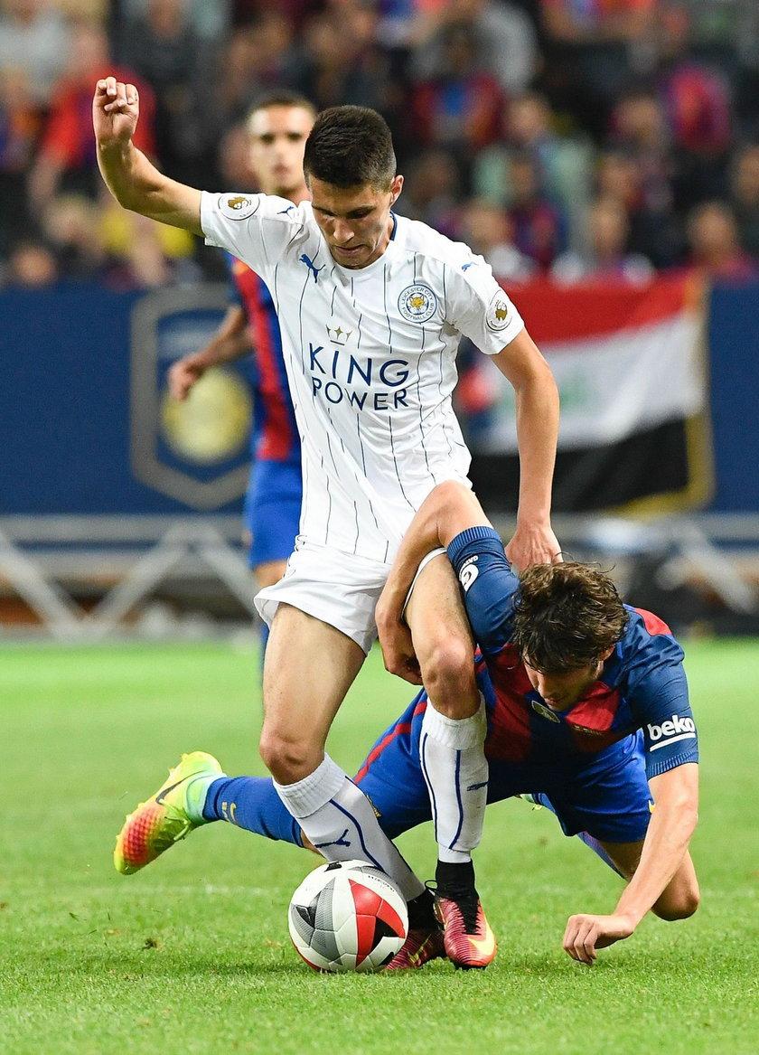 Bartosz Kapustka zadebiutował w Leicester City. Claudio Ranieri pochwalił Polaka