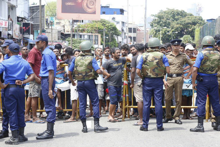 Šri Lanka, policija EPA -M.A. PUSHPA KUMARA