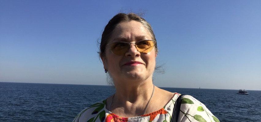 Krystyna Pawłowicz pojechała nad morze. Piszą, że te zdjęcia robili jej ochroniarze