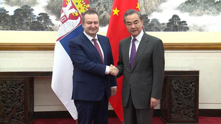 Dačić poseta Kini