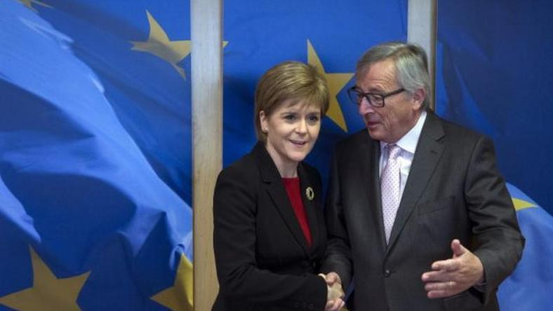 EU's Juncker to meet Scottish PM after UK says leaving EU