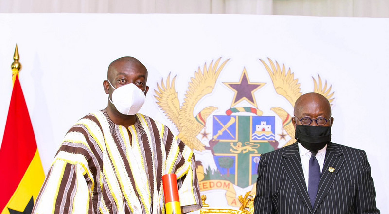 Akufo-Addo swears in first batch of 28 ministers