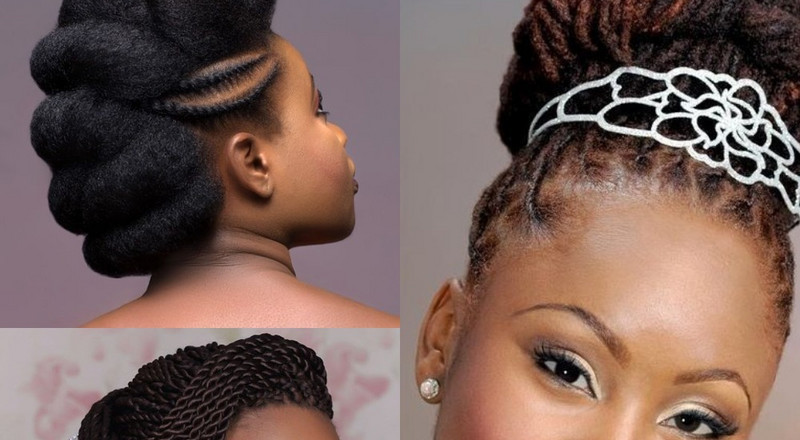 Wedding Day Hairstyles Inspiration For Black Women Bridal Hairstyles Article Pulse Live Kenya