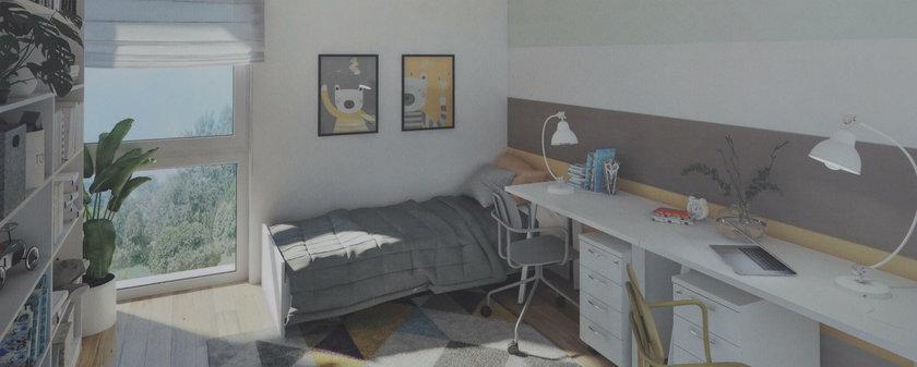 Wizualizacja nowego domu
