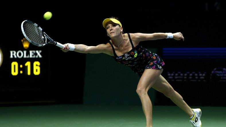 Świetny początek Radwańskiej w WTA Finals. Polka pokonała Kvitovą