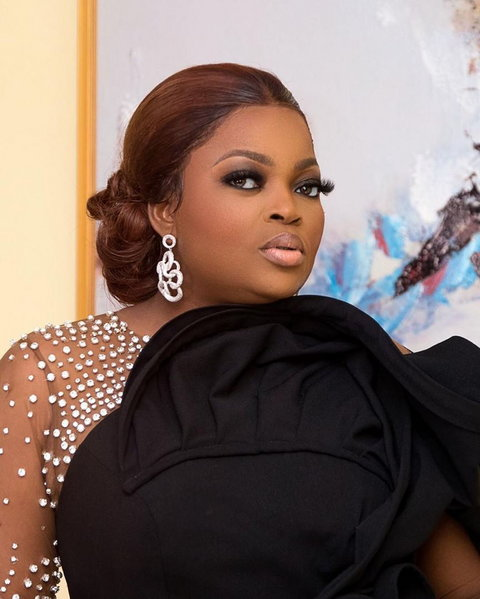 Funke Akindele-Bello has done so well for herself that she ended the decade by developing a game with her character 'Jenifa'. This is a first for the actress and Nollywood. [Instagram/funkejenifaakindele]