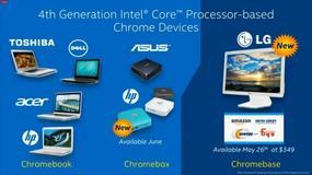 Google zaprezentowało nowe Chromebooki z procesorami Bay Trail