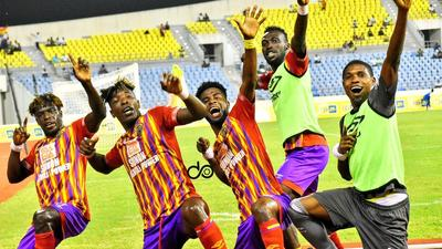 Hearts of Oak in line to win the double after qualifying for FA Cup final