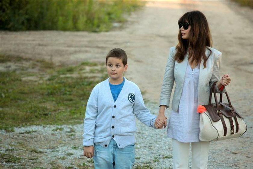 Syn Dominiki Ostałowskie robi aktorską karierę