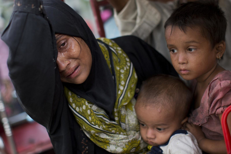 Rohinđa mislimani, Burma, Mjanmar