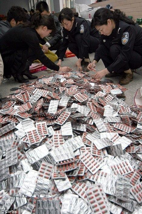 The Korean Customs Service reportedly confirmed the seizure of Chinese drugs made with human flesh.