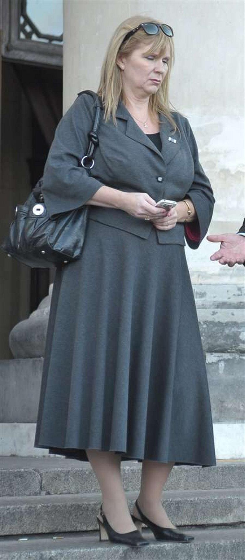 Była żona Gosiewskiego z kieliszkiem i ...