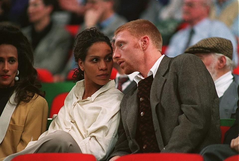 Boris Becker i Barbara Feltus