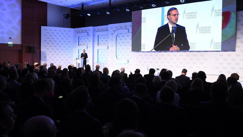 Uroczyste otwarcie Europejskiego Kongresu Finansowego