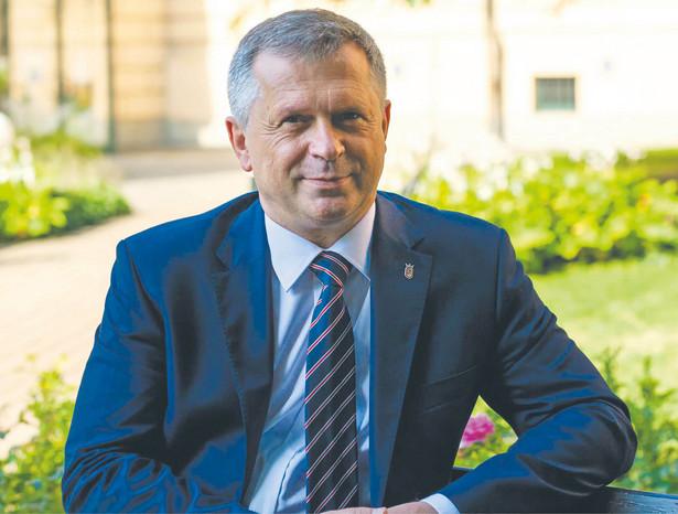 Prof. Stanisław Mazur, rektor Uniwersytetu Ekonomicznego w Krakowie, członek prezydium Konferencji Rektorów Akademickich Szkół Polskich