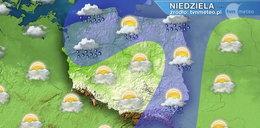 Niedziela deszczowa z możliwymi burzami. Od północy napłynie chłodne powietrze