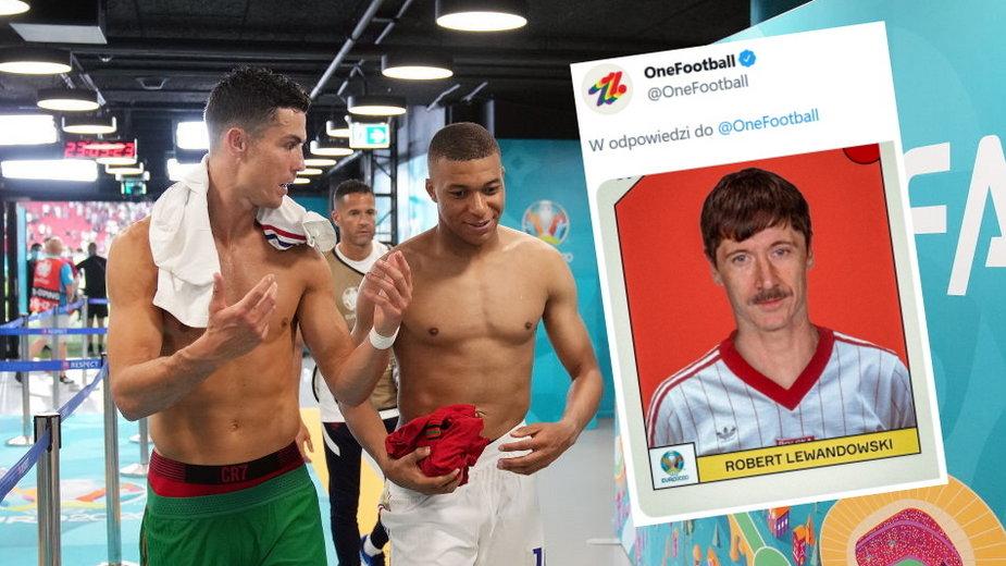 Cristiano Ronaldo i Kylian Mbappe