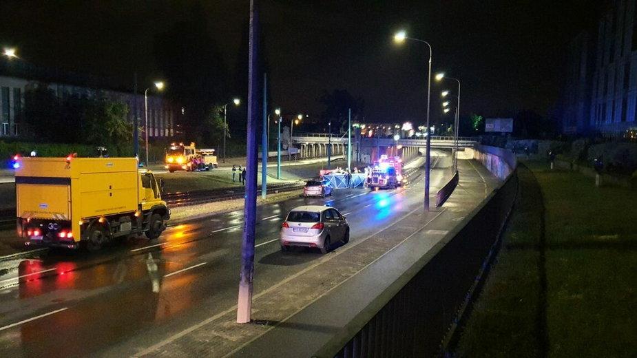 Śmiertelny wypadek w Poznaniu