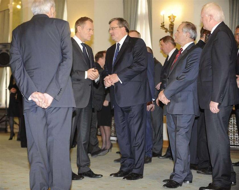 Prezydent desygnował Tuska na premiera rządu