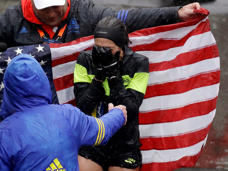 Des Linden Boston Marathon