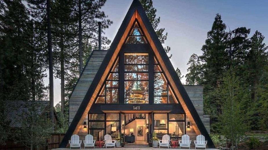 Domek zaprojektowany przez Todd Gordon Mather Architect