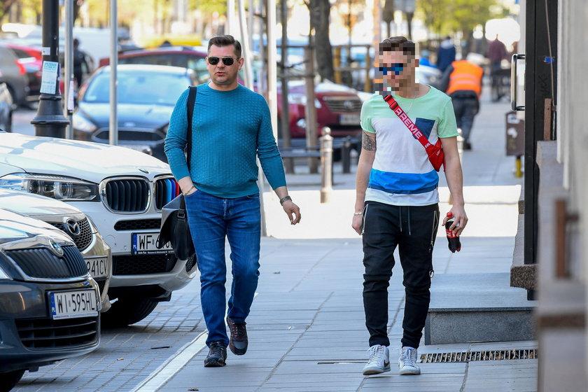 """Daniel M. wyrzucony z baru w Warszawie. """"Obrażał barmana"""""""