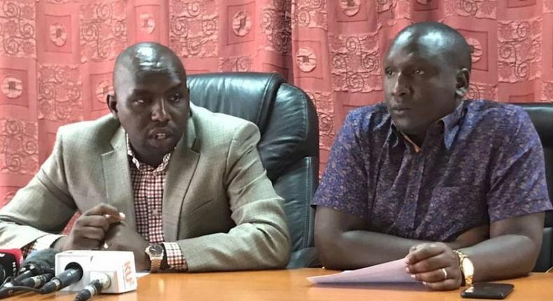 Jubilee Senators Kipchumba Murkomen and Aaron Cheruiyot. Shame on you – Jubilee Senator to Standard