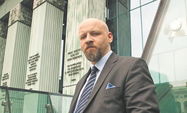 Piotr Waglowski prawnik, autor serwisu VaGla.pl Prawo i Internet, fot. Wojciech Górski