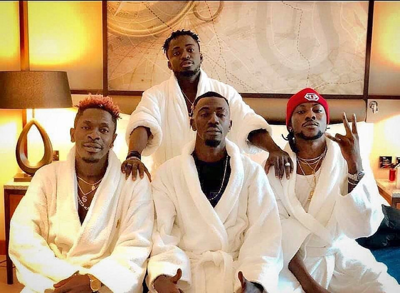 Shatta Wale and Militants
