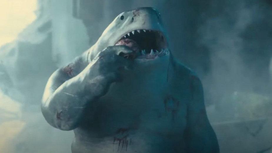 """Wiecznie głodny i nierozgarnięty humanoidalny rekin King Shark to jedna z najjaśniejszych gwiazd nowego """"Legionu Samobójców""""."""