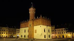 Najstarszy działający zegar ratuszowy znajduje się w Tarnowie