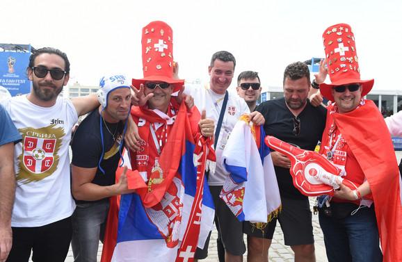 Navijači u Kalinjingradu