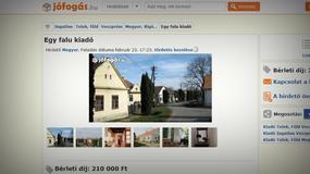 Węgierska wioska Megyer do wynajęcia wraz ze stanowiskiem wicesołtysa