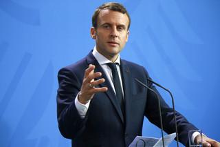Prezydent Francji Emmanuel Macron ma koronawirusa