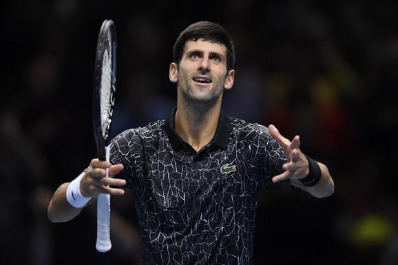 Novak Đoković i sada već tradicionalno proslavljanje pobeda