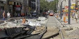 Uwaga! Ulica 3 Maja zamknięta dla tramwajów