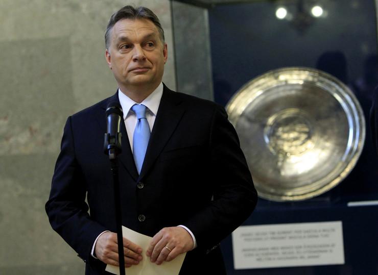 Mađarski premijer Viktor Orban na otkrivanju dela blaga