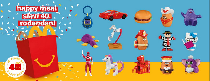 Happy Meal 40 rođendan