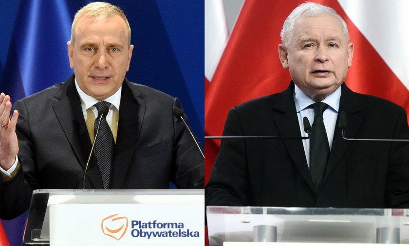 Grzegorz Schetyna, Jarosław Kaczyński