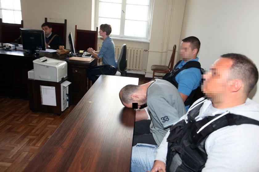 Podpalacz Marcin W. w sądzie