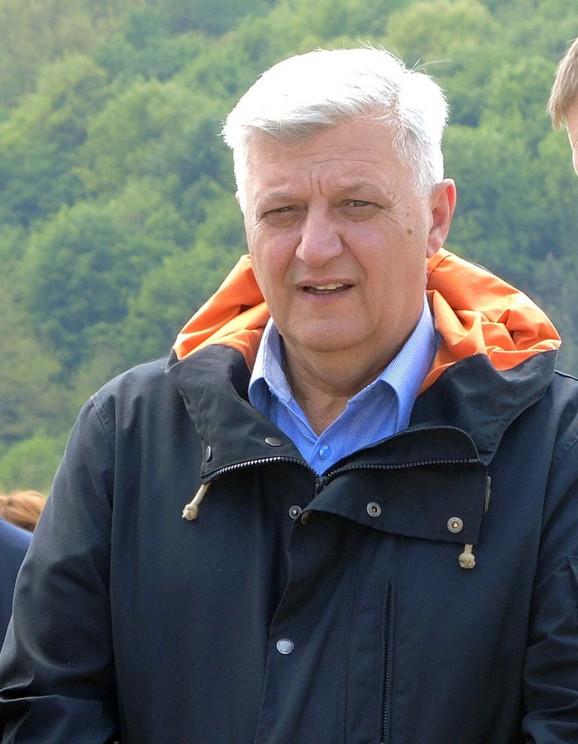 Predsednik opštine Požega Milan Božić