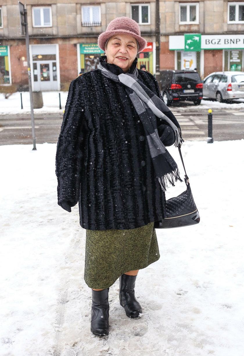 Pani Teresa Kalinowska (79 l.) jest emerytką i chętnie korzystałaby z darmowych podróży taksówką