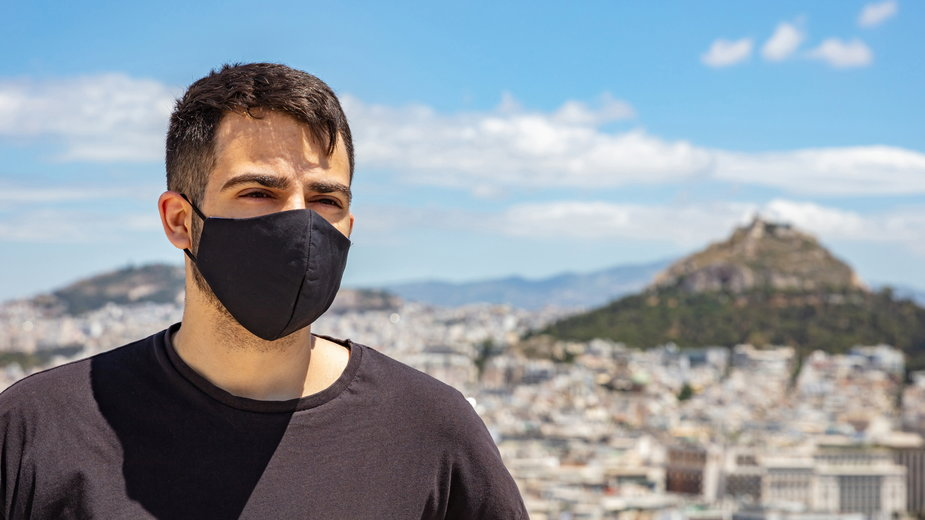 Koronawirus w Grecji. Na zdjęciu Ateny