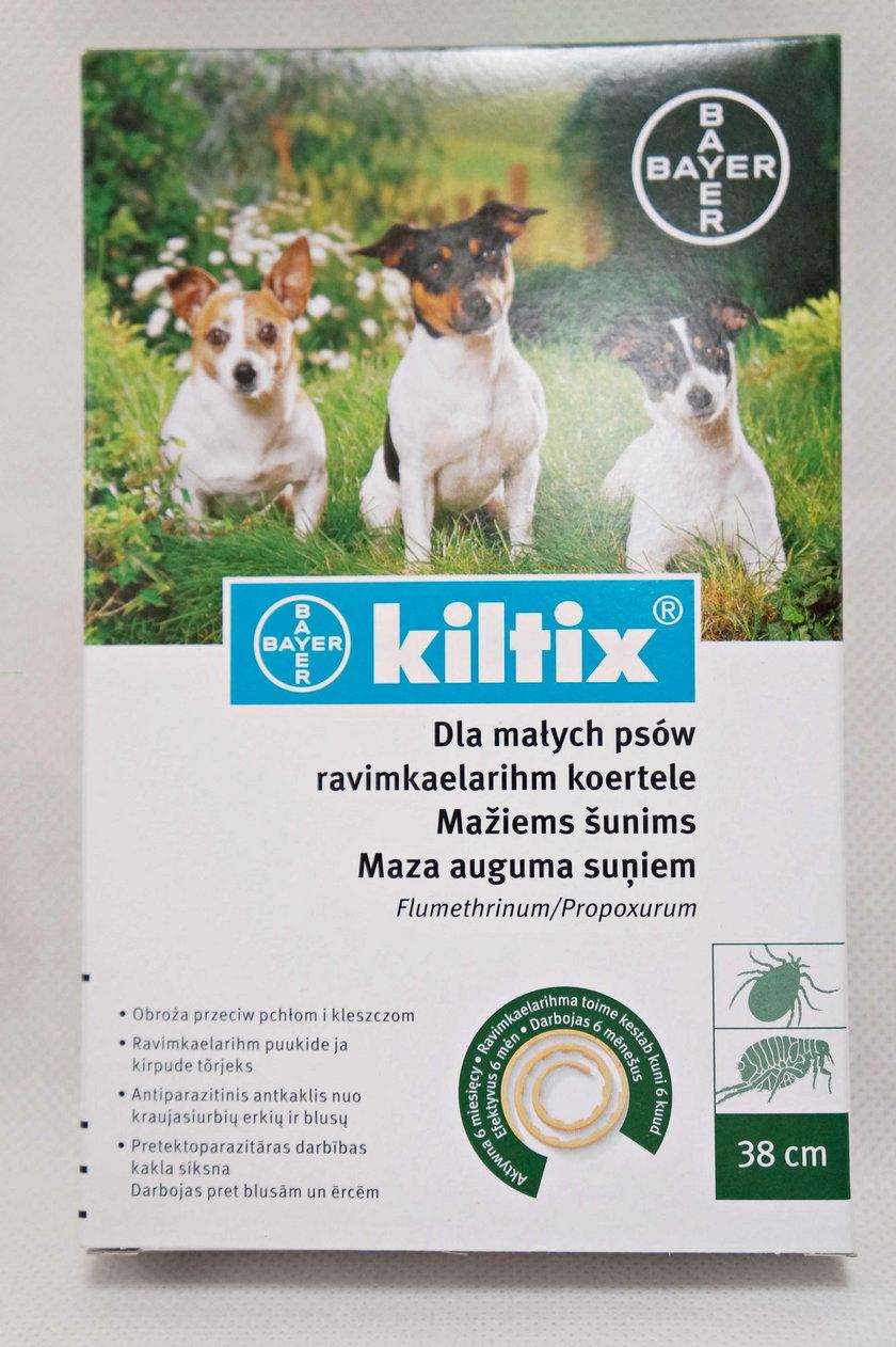 Środki na kleszcze dla psów i kotów